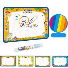 Baby Kids Add Water with Magic Pen Doodle Painting Picture Water Drawing Play Mat in Drawing Toys Board Gift Christmas-Dollar Bargains Online Shopping Australia Magic Doodle, Teen Presents, Pen Doodles, Water Drawing, Interactive Toys, Original Gifts, Baby Kind, Pictures To Paint, Cool Toys