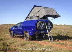 Ford Ranger spacecab Canopy with inbuilt roof tent.