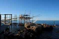 Trabocco, Abruzzo