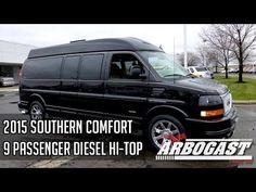 2015 GMC Southern Comfort Diesel 9 Passenger Conversion Van   Dave Arbog...