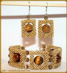 GLAMOUR jewelry set - Tiger - Media - Beading Daily