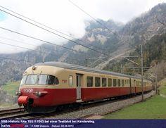 Charter- und Erlebnisfahrten: SBB Historic lässt den legendären TEE neu aufleben. / Foto: SBB Historic