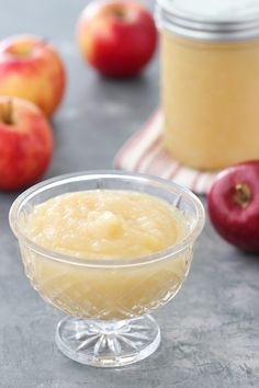 Apples For Applesauce, Canned Applesauce, Homemade Applesauce, Pear Sauce, Apple Sauce, Baby Food Recipes, Ww Recipes, Canning Recipes