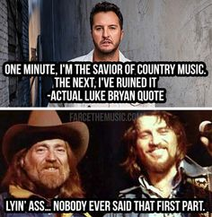 Farce the Music: Waylon Jennings Country Music Meme, Country Music Artists, Country Music Stars, Country Quotes, Country Singers, Outlaw Country, Country Boys, Country Life, Music Humor