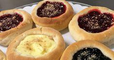 Kolache Making - Preserving the art of a Czech dessert in South Dakota. Czech Desserts, Just Desserts, Delicious Desserts, Gourmet Recipes, Baking Recipes, Dessert Recipes, Kolaczki Recipe, Polish Desserts, Dessert From Scratch