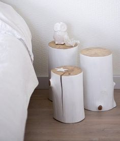 White Trunk Table <3