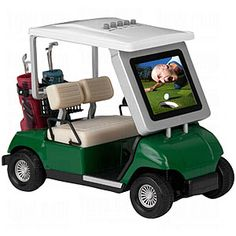 Sports Frame: ProActive Sports Golf Cart Digital Photo Frame | TGW.com