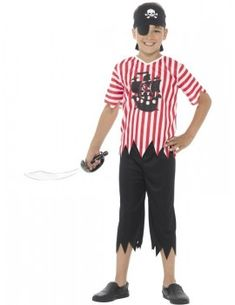 Jolly Pirate Boy Costume