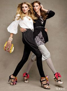 lily donaldson and karlie kloss