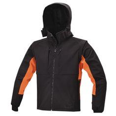 Beta Giacca Gilet softshell maniche staccabili abbigliamento lavoro nera 7683