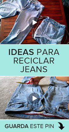 Recycled Denim, Diy Flowers, My Design, My Girl, Pants, Ideas, Board, Fashion, Hand Stitching