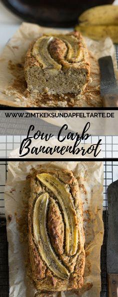 Einfach und lecker, schnell gebacken und glutenfrei: mein Rezept für Low Carb Bananenbrot - Bananabread #bananenbrot #einfach #glutenfrei #lowcarb