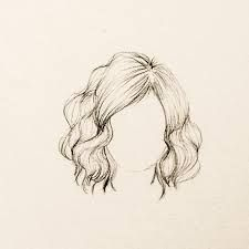 Resultado de imagem para molde de cabelo de boneca de feltro meio ondulado
