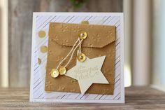 Nov. 14 - Dina - Karte mit Stern und Umschlag
