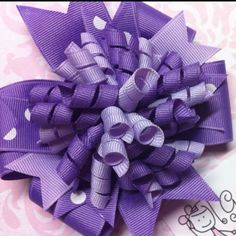 This is a 2-in-1 hairbow ! The mini korker and hairbow can be worn together or separate! Check out my FB page...Giggly Girl Bowtique!