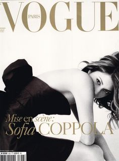 Sofia Coppola covers French Vogue