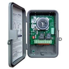 Intermatic GM40AVQW Timer Switch AutoVoltage 7Day Electromechanical In NEMA 3R Outdoor Plastic Enclosure wBattery Backup >>> You can find out more details at the link of the image. (This is an Amazon Affiliate link and I receive a commission for the sales)