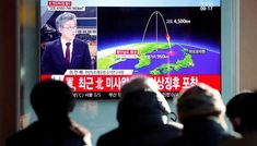 US sanctions North Korean missile experts Russia offers to mediate   The largely symbolic steps block any property or interests the two might have within US jurisdiction and prohibit any dealings by US citizens with them.  FILE PHOTO: People watch a television broadcast of a news report on North Korea firing what appeared to be an intercontinental ballistic missile (ICBM) that landed close to Japan in Seoul South Korea November 29 2017. REUTERS/Kim Hong-Ji  WASHINGTON/MOSCOW: The United…
