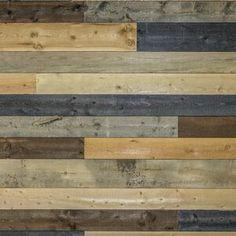 Coeur d'Alene Wood W x L Solid Wood Wall Paneling in Brown Wood Vinyl Wall Panels, Wood Panel Walls, Wood Planks, Wood Paneling, Wall Panelling, Shiplap Wood, Reclaimed Wood Wall Panels, Distressed Wood Wall, Allure Flooring