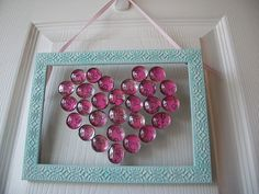 flat glass stones mosaic with tutorial