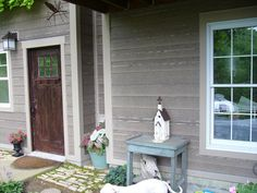 Order Cerber Rustic Fiber Cement Siding / River Rock, delivered right to your door. Exterior Remodel, Exterior Siding, Exterior Colors, Exterior Design, Wood Siding, House Siding, Facade House, House Exteriors, Fiber Cement Siding