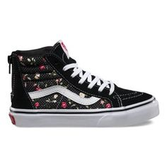 d0b32d0d78 Kids Floral Dots SK8-Hi Zip Girls Shopping