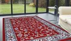 Tappeti classici disegni persiani colore rosso