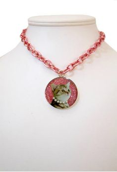 Necklaces - Locketship.com Granny Cat...