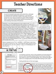 STEM Activity Challenge Build a Water Slide
