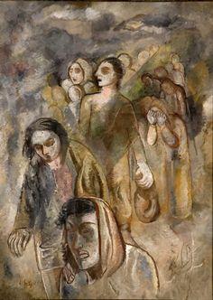 Pintura Brasileira- Êxodo, de Lasar Segall