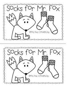 Socks for Mr. Fox - A FREE Seuss Inspired Emergent Reader by Sherri Cheshire Dr. Seuss, Dr Seuss Week, Kindergarten Writing, Kindergarten Activities, Dr Seuss Activities, Sequencing Activities, Dr Seuss Crafts, Emergent Readers, Art Design