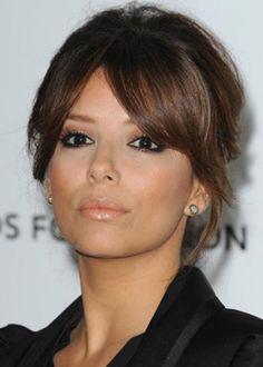 Maquillage d'Eva Longoria : maquillage pour teint mat et yeux noirs pas à pas tuto