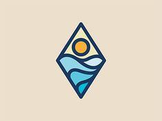 New post on graphicdesignblg Best Logo Design, Branding Design, Sunrise Tattoo, Sunrise Logo, Gfx Design, Grafik Design, Graphic Design Illustration, Graphic Design Inspiration, Sticker Design