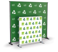 Adjustable Banner Stand Large $189 MSRP List Price: $223 You Save: $34 (15%)