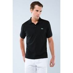 Polo Lacoste | Men Polo Shirt Lacoste, Black Color