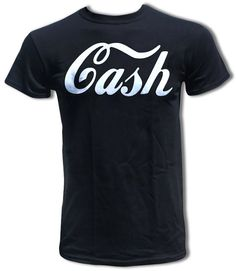CASH T Shirt Worn By Jack White The White by StrangeLoveTees, $15.99