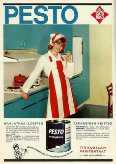 Pesto, laatumaali (Kotiliesi 1967