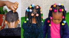 This video is for you if you can't Braid or Cornrow. back to school hairstyle for toddlers/kids - YouTube Little Girl Braid Hairstyles, Little Girl Braids, Baby Girl Hairstyles, Back To School Hairstyles, Kids Braided Hairstyles, Cute Hairstyles, Toddler Hairstyles, Protective Hairstyles, Cornrows For Girls