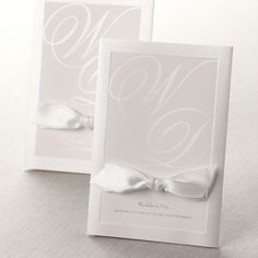Pearlized Frame Borders by B Wedding Invitations