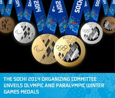 so apparently this is the medal design for Sochi 2014...it's really, really awesome not gonna lie. it sort of evokes the medals from Albertville and Nagano