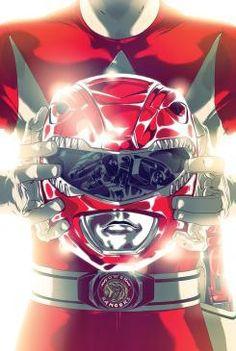 Portada del Red Ranger en Mighty Morphin' Power Rangers