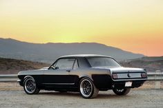 1965 Ford Mustang Coupe - Black Is Still The New Black Photo & Image Gallery