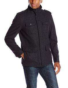 Dockers Men's Wool Melton Four Pocket Military Field Jacket, Charcoal, Small Dockers http://www.amazon.com/dp/B0105KTNSO/ref=cm_sw_r_pi_dp_k3a-wb1SCMTAJ