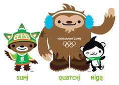 Vancouver 2010 Olympic Mascots    beardcrumbs.blogspot.com