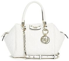 G Cube Quilted Small Satchel