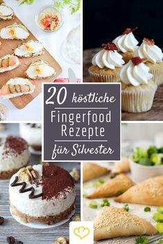 So köstlich ins neue Jahr feiern wie die Food-Blogger: 20 köstliche Fingerfood-Rezepte direkt aus der Blogger-Partyküche! Herzhaft und süß und zum Finger-Abschlecken gut!
