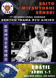 Aikido  Mendoza Iwama : Seminario Aikido Iwama Brasil!!!