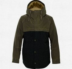 #REALLYGOOD option for #KNOWSNOW at @KNOWSHOW .ca - Burton x Filson® Squire Snowboard Jacket