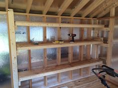 Bon DIY Storage Shelving For Our Shed