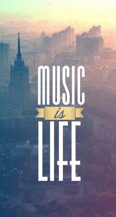 La musica es vida <3